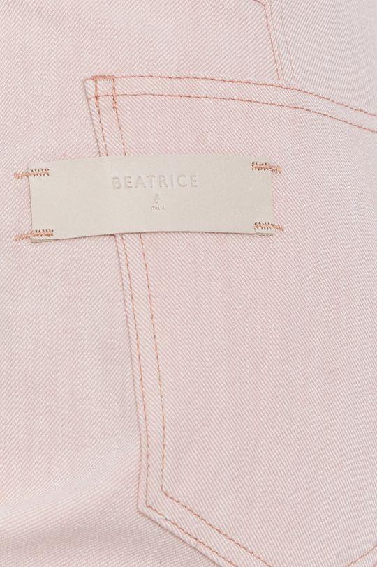 różowy Beatrice B - Jeansy