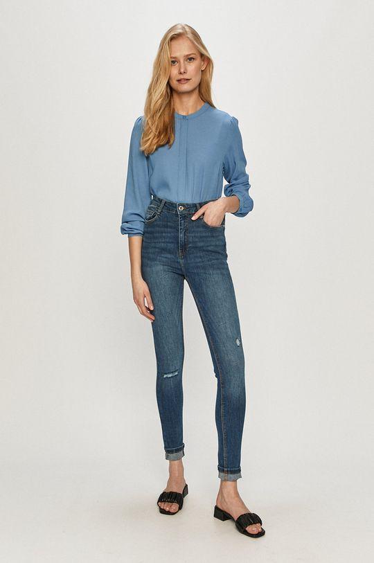 Tally Weijl - Jeansy niebieski