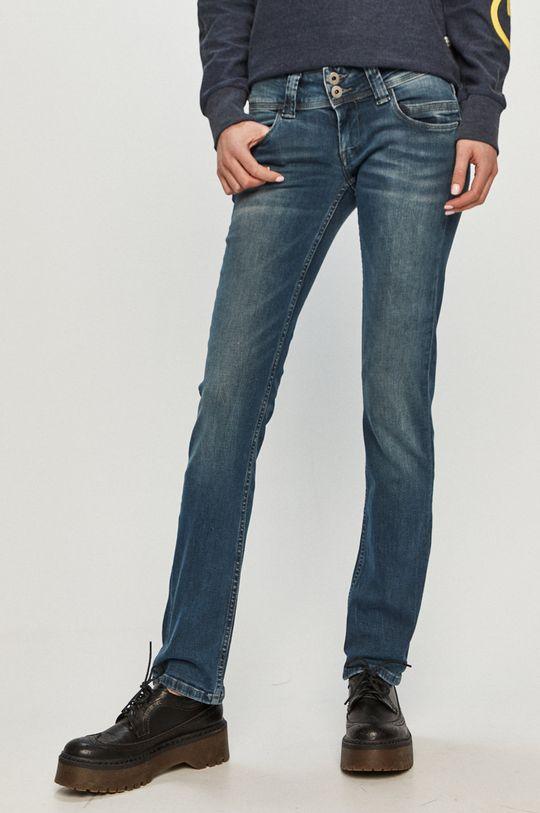 modrá Pepe Jeans - Džíny Venus Dámský