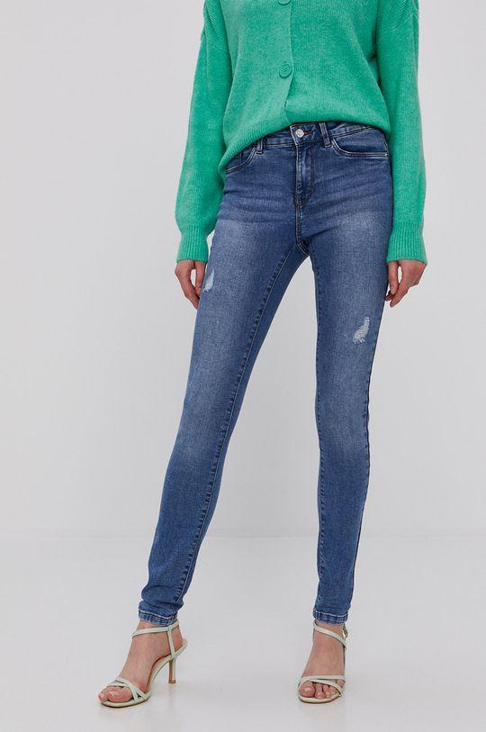 niebieski Vero Moda - Jeansy Seven Damski