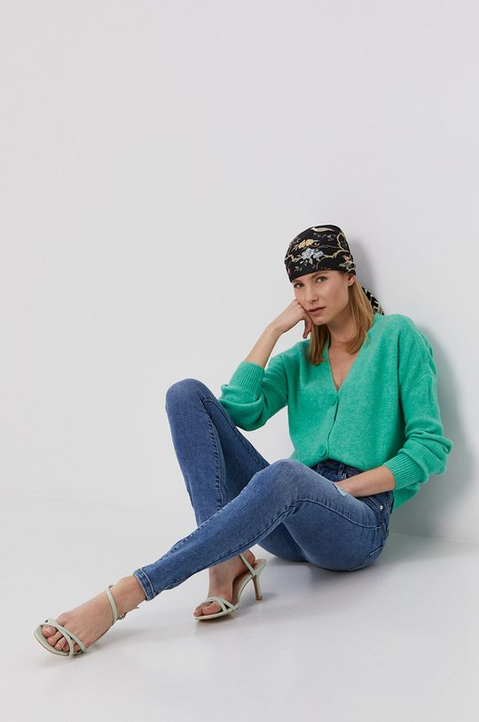 Vero Moda - Jeansy Seven niebieski