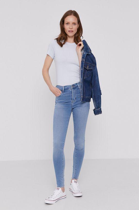 Levi's - Jeansy Hirise jasny niebieski