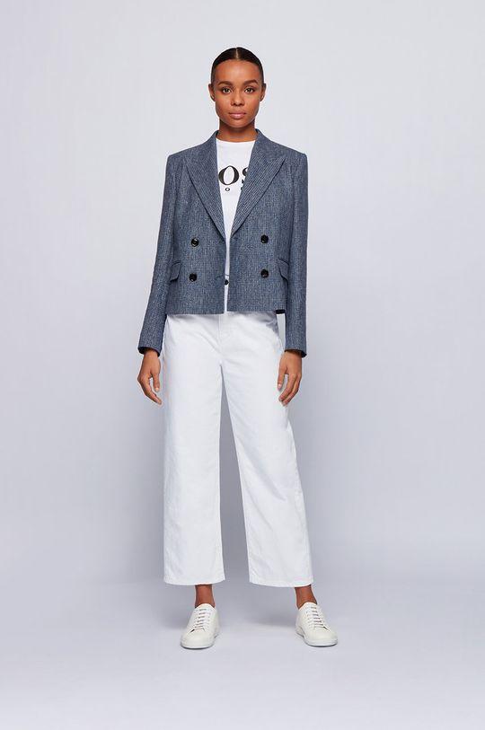 Boss - Jeansy biały