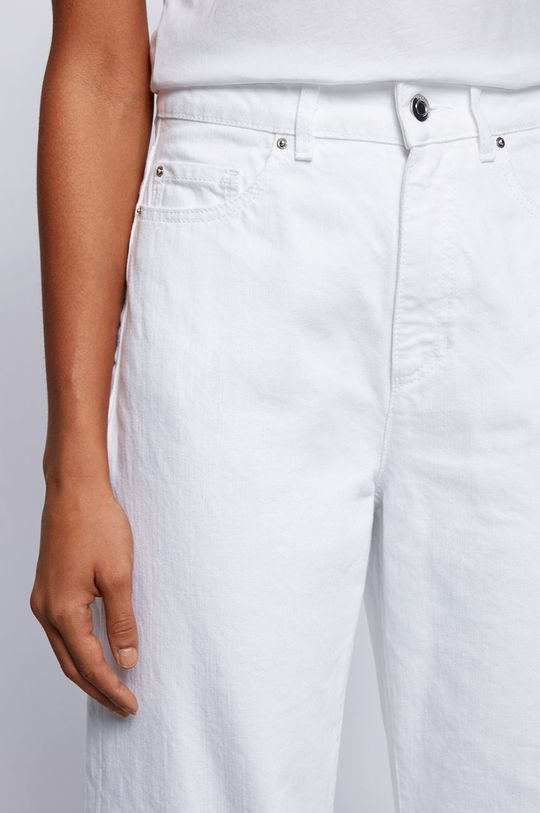biały Boss - Jeansy
