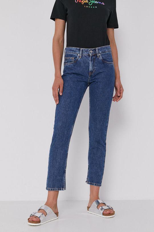 niebieski Pepe Jeans - Jeansy Mable Sparkle Damski