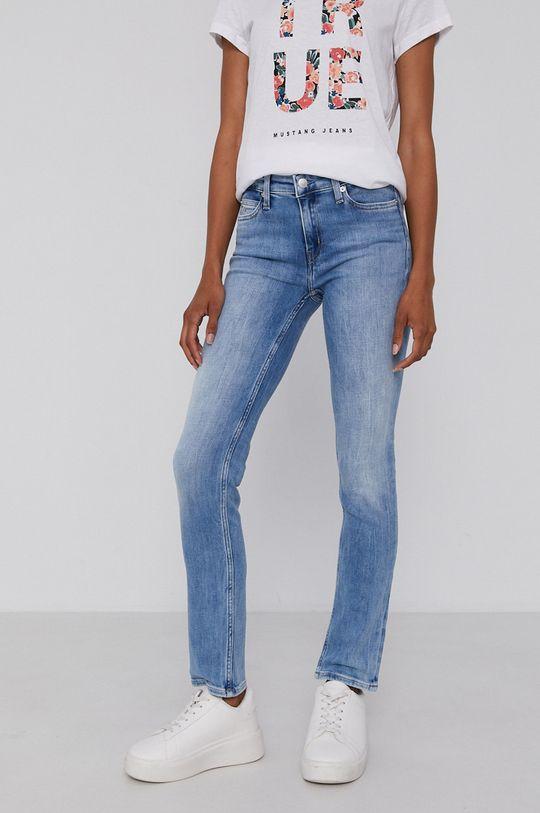 niebieski Calvin Klein Jeans - Jeansy Damski