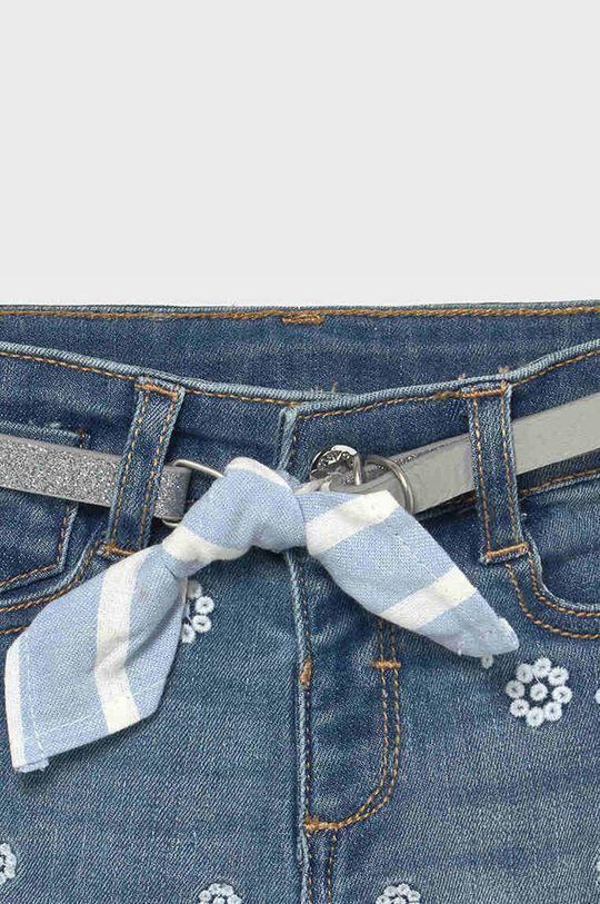 Mayoral - Jeansy dziecięce Materiał zasadniczy: 92 % Bawełna, 2 % Elastan, 6 % Poliester, Inne materiały: 15 % Bawełna, 5 % Len, 80 % Poliuretan