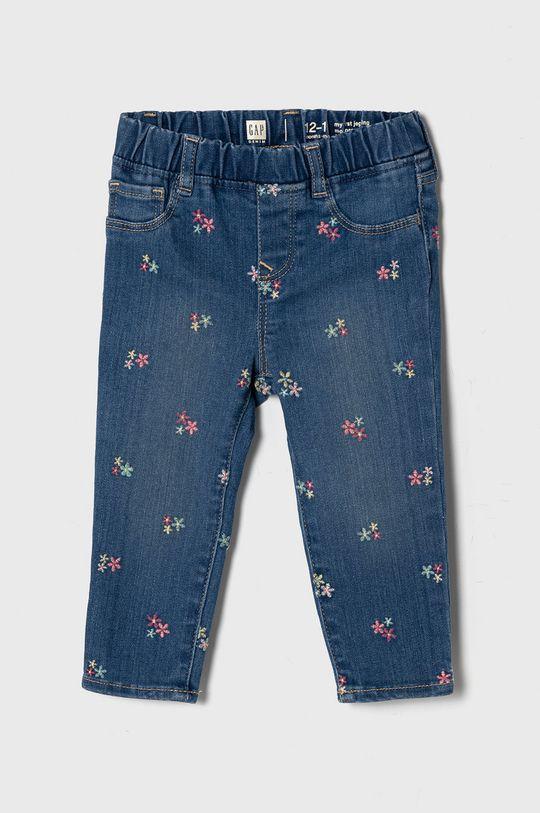 jasny niebieski GAP - Jeansy dziecięce 50-86 cm Dziewczęcy