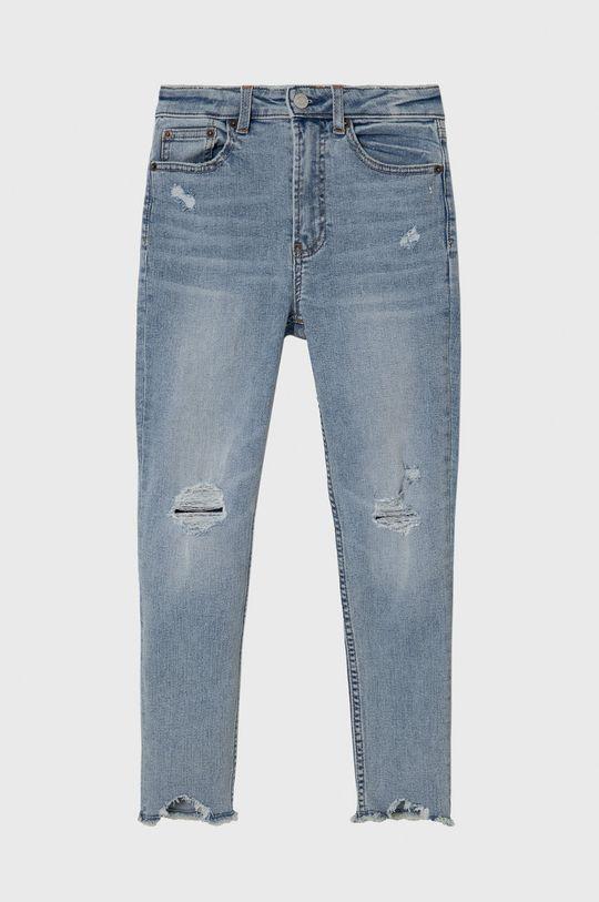 jasny niebieski GAP - Jeansy dziecięce Sky High 128-188 cm Dziewczęcy