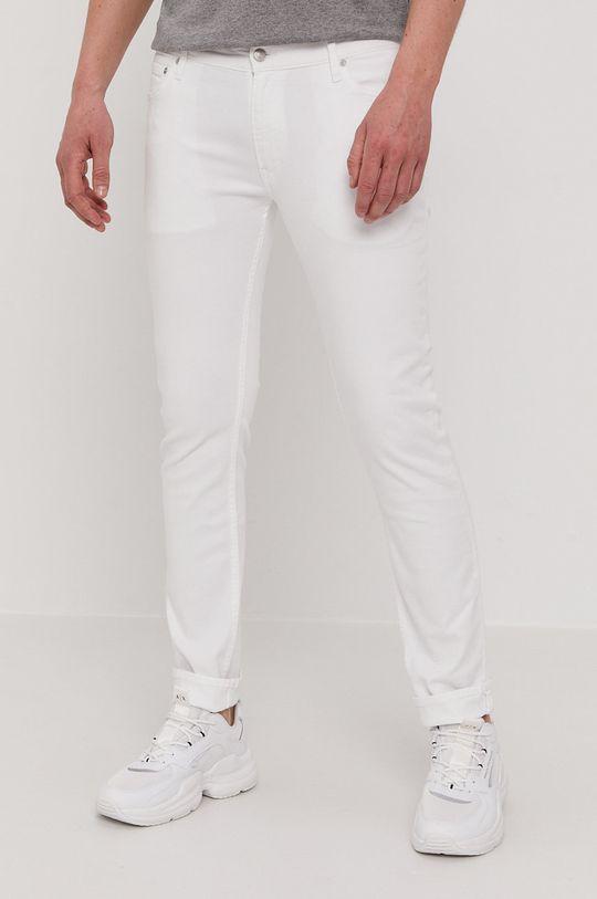 biały Calvin Klein - Jeansy Męski