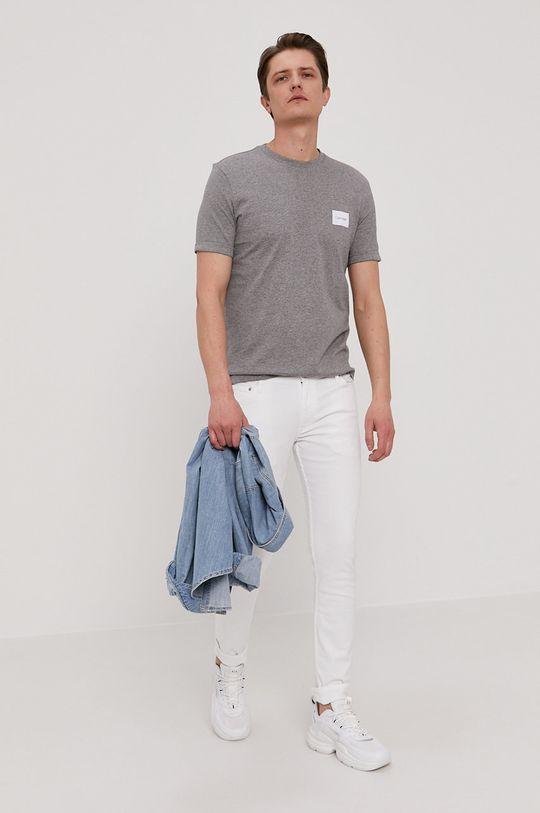 Calvin Klein - Jeansy biały