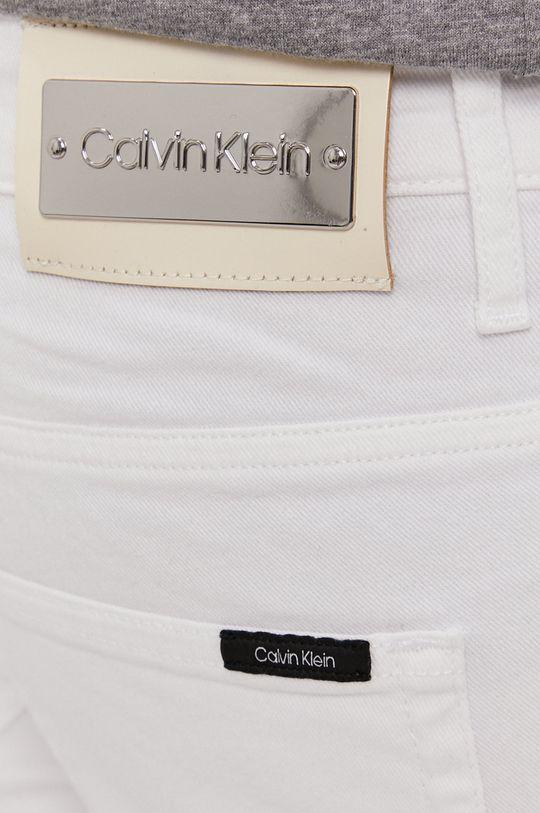 biały Calvin Klein - Jeansy
