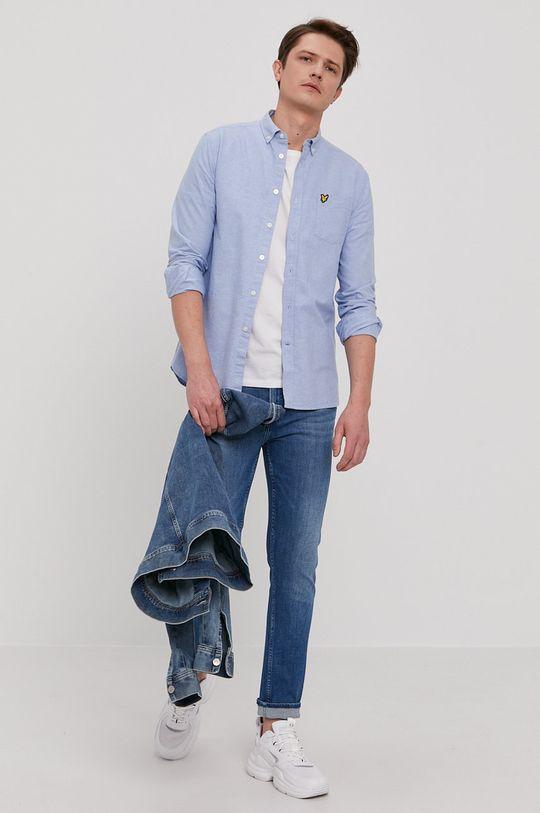 Calvin Klein - Jeansy niebieski