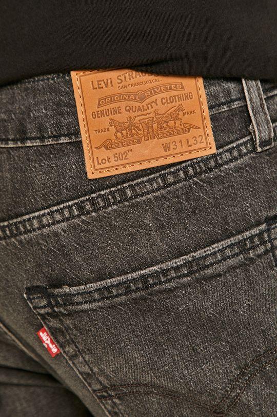 grafitowy Levi's - Jeansy 502