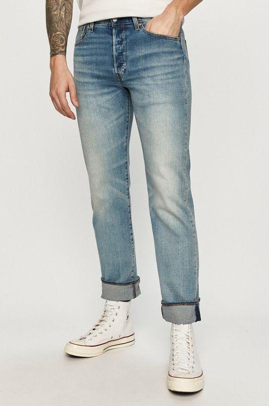 albastru pal Levi's - Jeansi 501 De bărbați