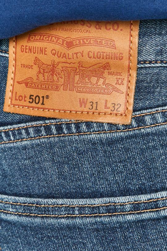 niebieski Levi's - Jeansy 501