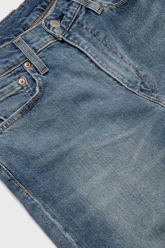 Levi's - Jeansy Skinny Tapered Fit 99 % Bawełna, 1 % Elastan