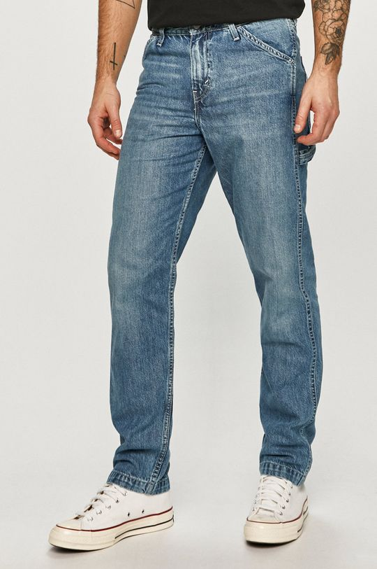 albastru Levi's - Jeansi TAPERED CARPENTER De bărbați