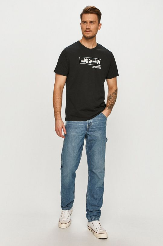 Levi's - Jeansi TAPERED CARPENTER albastru