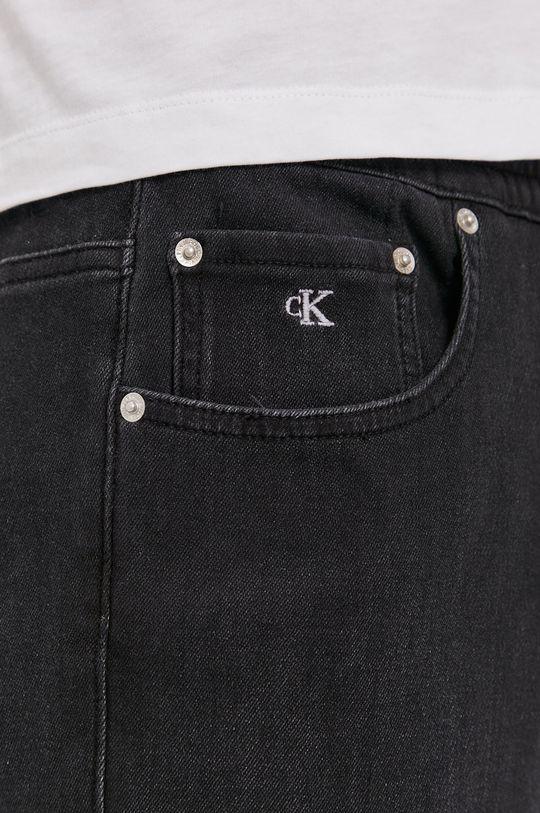czarny Calvin Klein Jeans - Jeansy Track Jean
