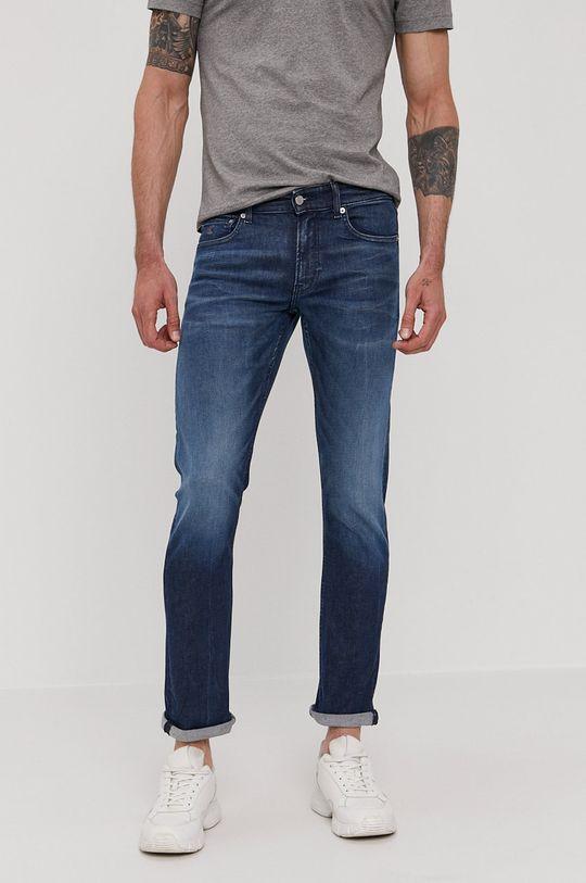 granatowy Calvin Klein Jeans - Jeansy Slim Męski