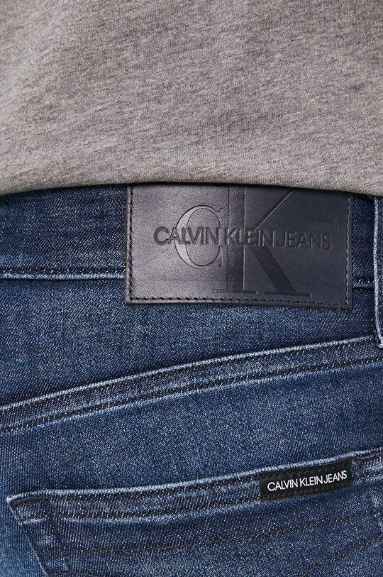 granatowy Calvin Klein Jeans - Jeansy Slim