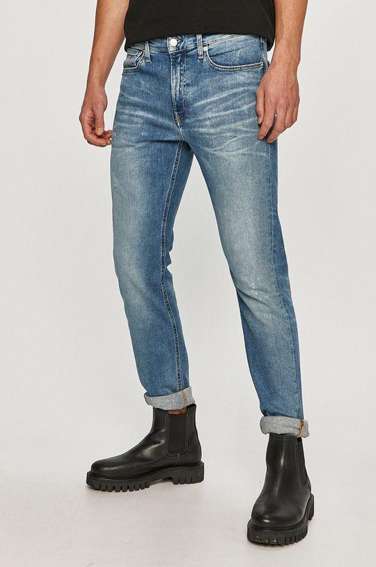 albastru Calvin Klein Jeans - Jeansi De bărbați