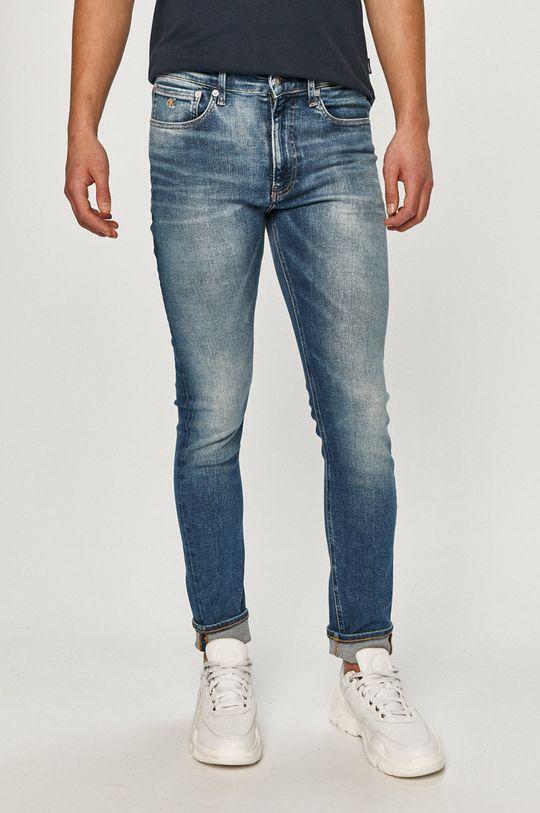 niebieski Calvin Klein Jeans - Jeansy Męski