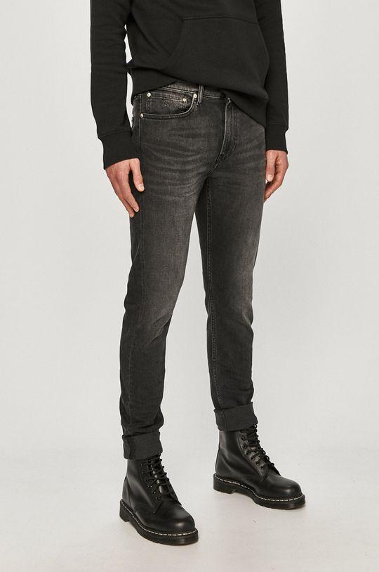 čierna Calvin Klein Jeans - Rifle Pánsky