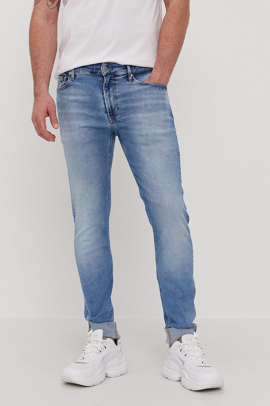 modrá Calvin Klein Jeans - Džíny CKJ 026 Pánský