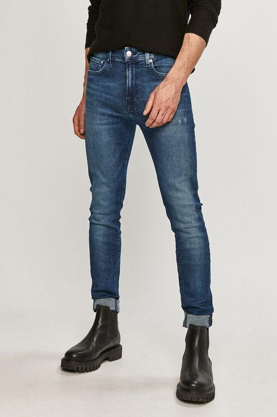 námořnická modř Calvin Klein Jeans - Džíny Pánský