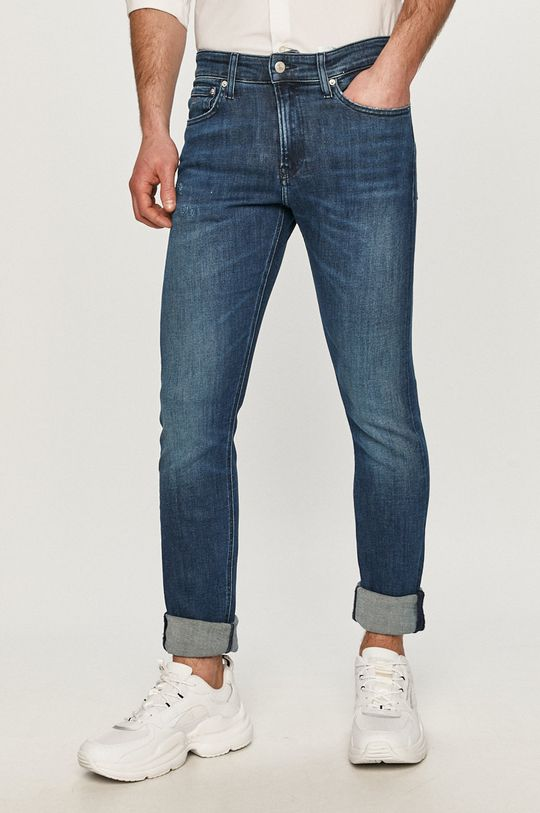 tmavomodrá Calvin Klein Jeans - Rifle Pánsky
