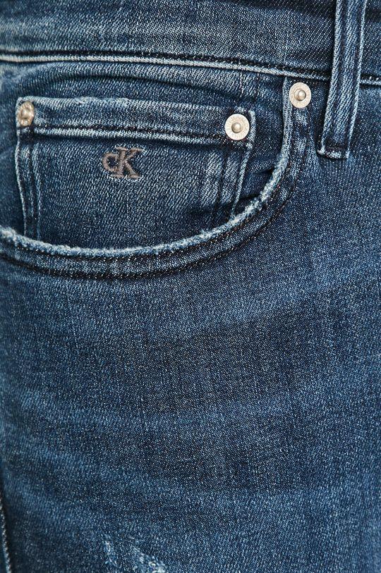 tmavomodrá Calvin Klein Jeans - Rifle