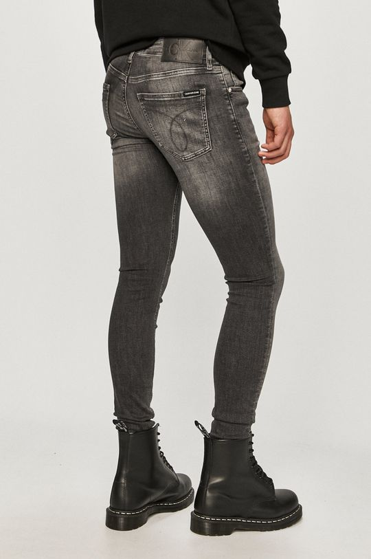 Calvin Klein Jeans - Rifle  92% Bavlna, 2% Elastan, 6% Elastomultiester