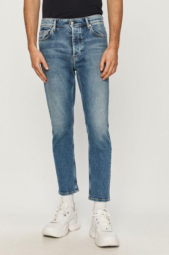 niebieski Calvin Klein Jeans - Jeansy Dad Męski