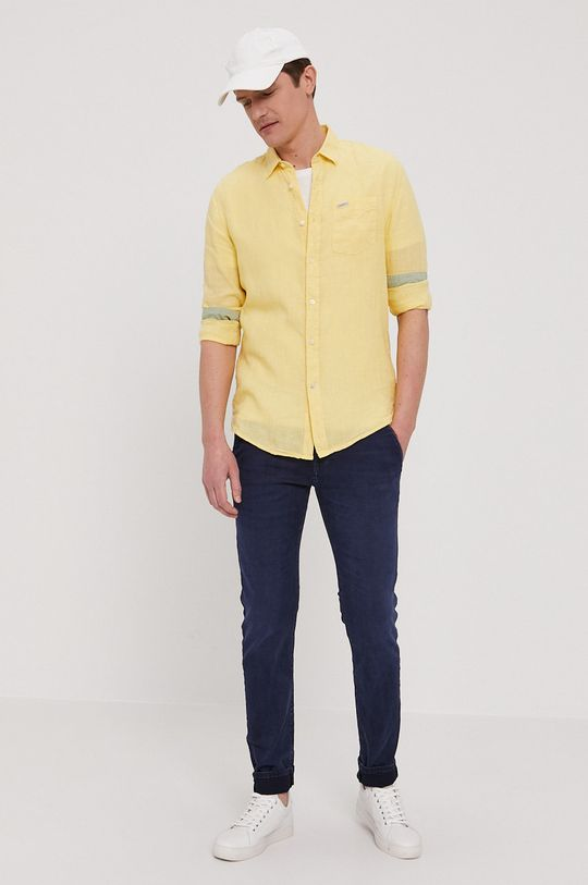 Pepe Jeans - Jeansy James granatowy