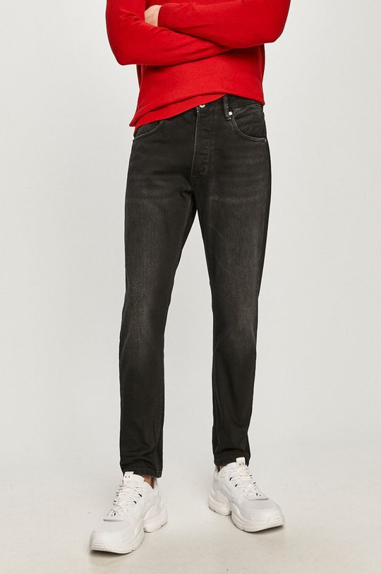 czarny Pepe Jeans - Jeansy Callen Crop Męski