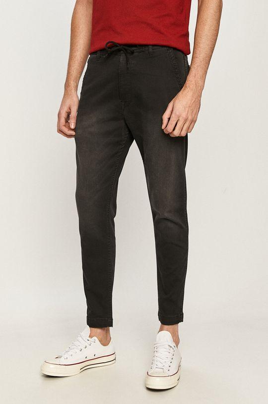czarny Pepe Jeans - Jeansy New Johnson Męski