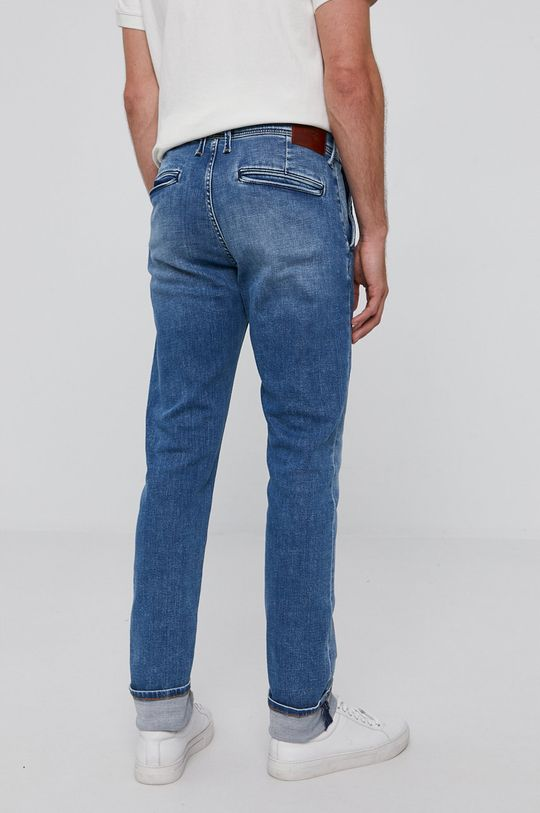 Pepe Jeans - Rifle Jamey  Základná látka: 99% Bavlna, 1% Elastan Podšívka vrecka: 35% Bavlna, 65% Polyester