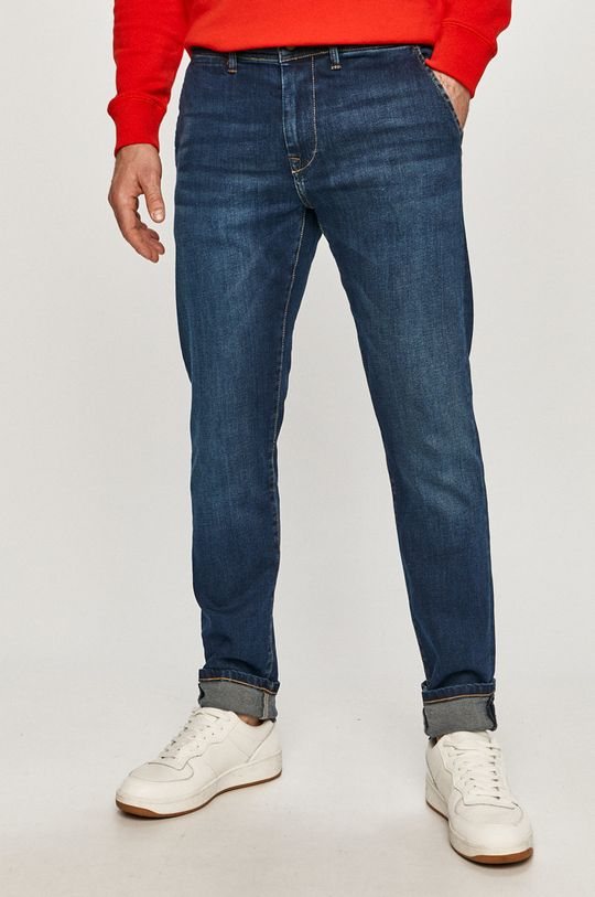 niebieski Pepe Jeans - Jeansy Jamey Męski