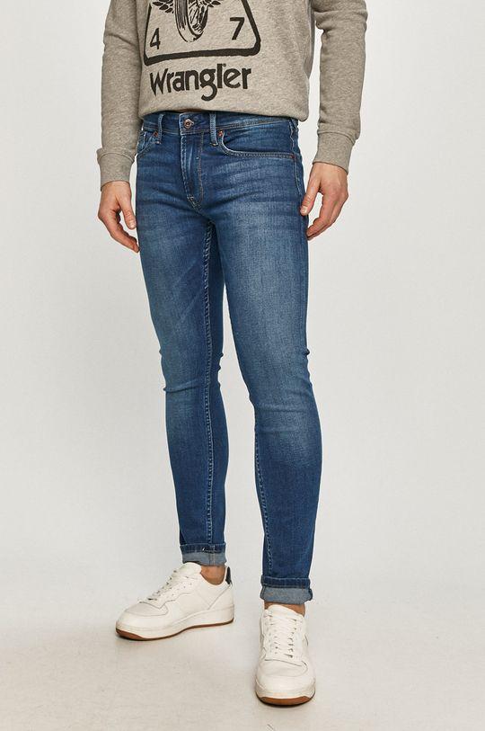 niebieski Pepe Jeans - Jeansy Finsbury Męski