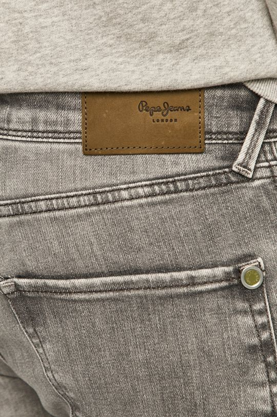szary Pepe Jeans - Jeansy Finsbury