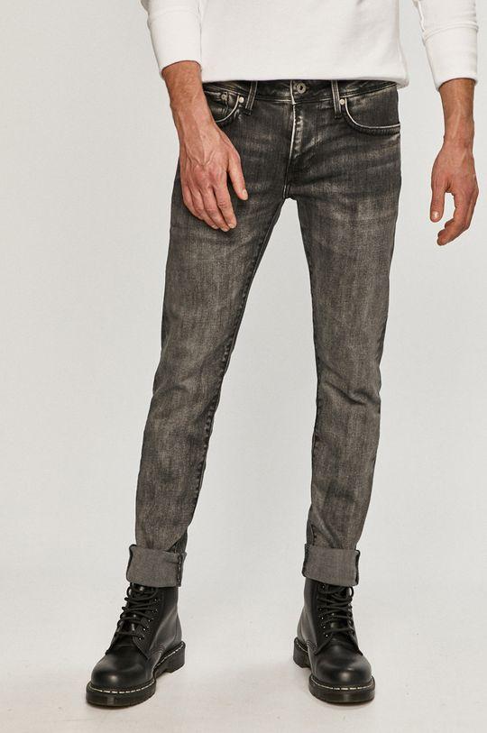 sivá Pepe Jeans - Rifle Hatch Pánsky