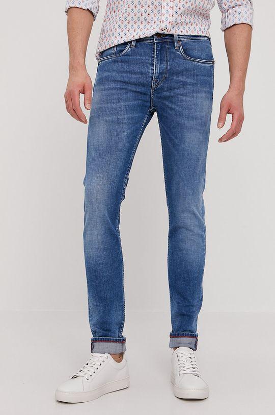 niebieski Pepe Jeans - Jeansy Hatch Heritage Męski