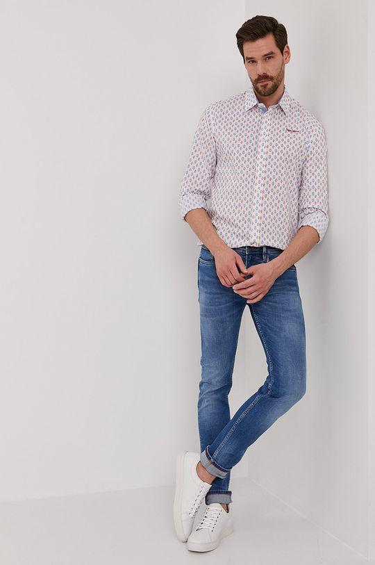 Pepe Jeans - Jeansy Hatch Heritage niebieski