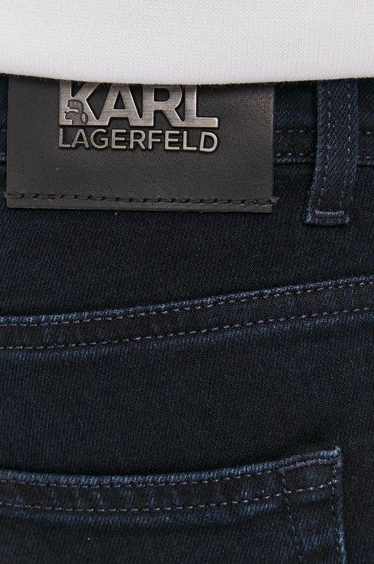 granatowy Karl Lagerfeld - Jeansy