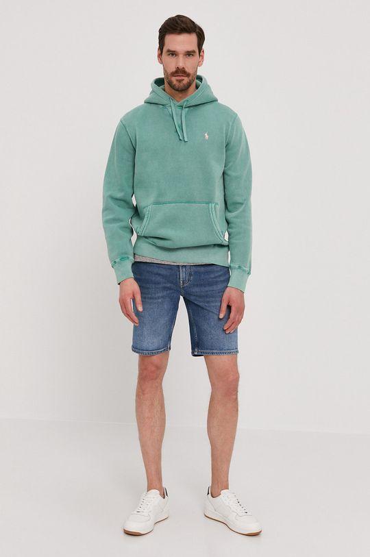 Tommy Hilfiger - Džínové šortky modrá