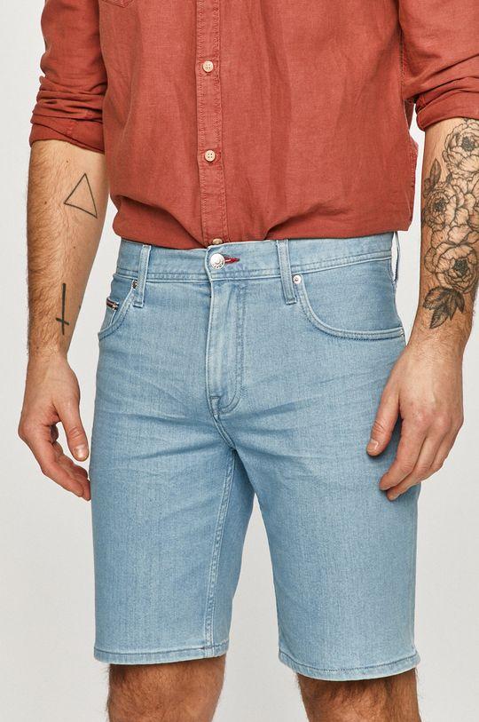 modrá Tommy Hilfiger - Džínové šortky Pánský