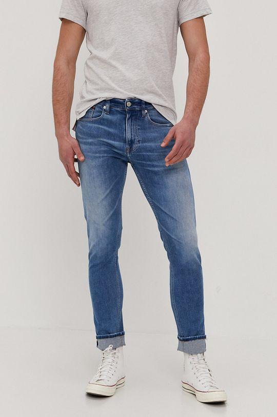 niebieski Tommy Jeans - Jeansy Austin Męski