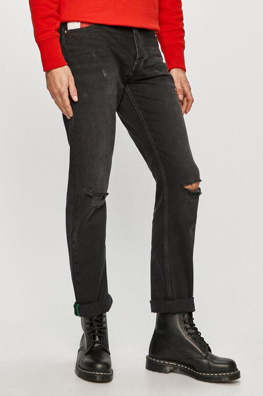 černá Tommy Jeans - Džíny Ethan Pánský